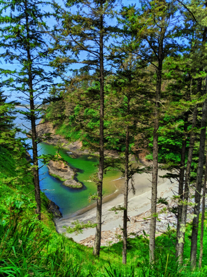 Deadmans Cove at Cape Disappointment State Park Ilwaco Washington 3